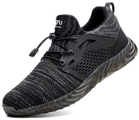 Chaussures de sécurité, chaussures de travail, avec protection des orteils en acier Site baskets et industrie pour hommes et femmes