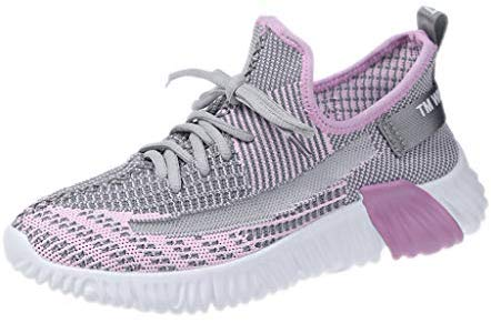 LUBITY Garçon Fille Chaussures de course Sneakers Sneakers Mode Basketball Femme Sport Chaussures de marche Running Compétition Formation Chaussure Homme