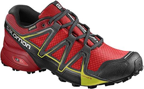 Salomon Speedcross Vario 2 GTX chaussures de course et hommes, synthétique / textile, gris, tailles